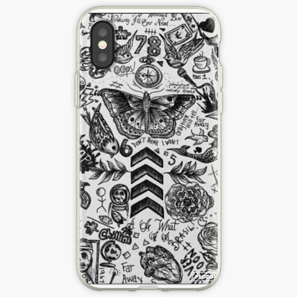 1D Tattoo Telefon Fall iPhone-Hüllen & Cover
