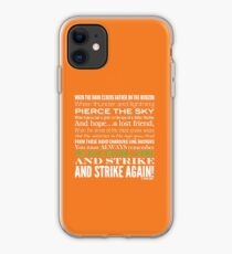 Green Strike Collection by Graphic Snob® iPhone Case
