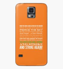 Green Strike Collection by Graphic Snob® Case/Skin for Samsung Galaxy