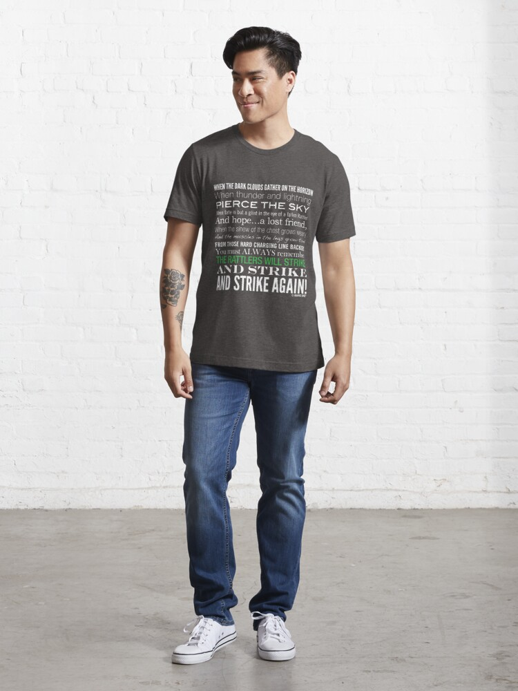 Alternate view of Green Strike Collection by Graphic Snob® Essential T-Shirt