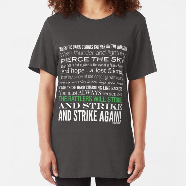 Green Strike Collection by Graphic Snob® Slim Fit T-Shirt