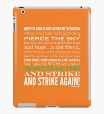 Green Strike Collection by Graphic Snob® iPad Case/Skin