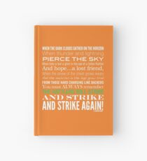 Green Strike Collection by Graphic Snob® Hardcover Journal