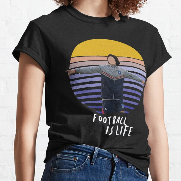 Football is life Vintage Sunset Classic T-Shirt