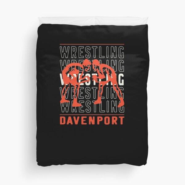 Wrestling Davenport Duvet Cover