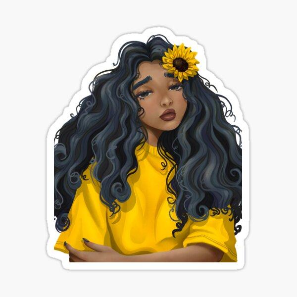 Sunshine Flower Sticker