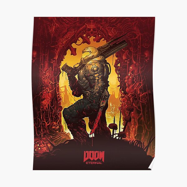 Doom Eternal Poster Poster