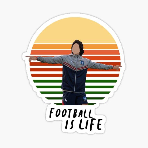 Lasso _ Fußball ist Leben Sticker