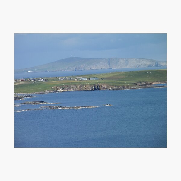 Shetland Islands Scotland Photographic Print
