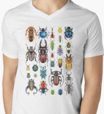 Beetle Collection Men's V-Neck T-Shirt