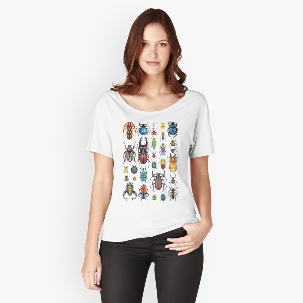 Beetle Collection Women's Relaxed Fit T-Shirt Front