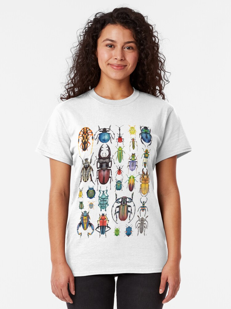 Alternate view of Beetle Collection Classic T-Shirt