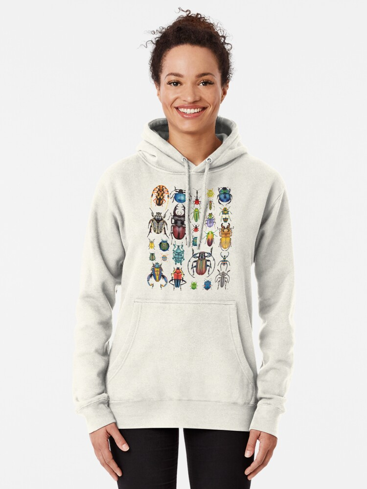 Alternate view of Beetle Collection Pullover Hoodie