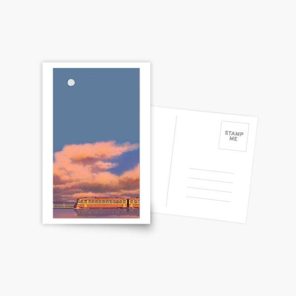 Enlevée comme par enchantement Carte postale