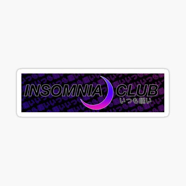 Insomnia Club JDM Slap Sticker