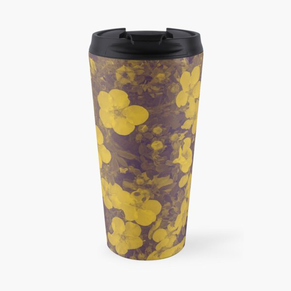 English Garden -  Coweyes Yellow Travel Mug