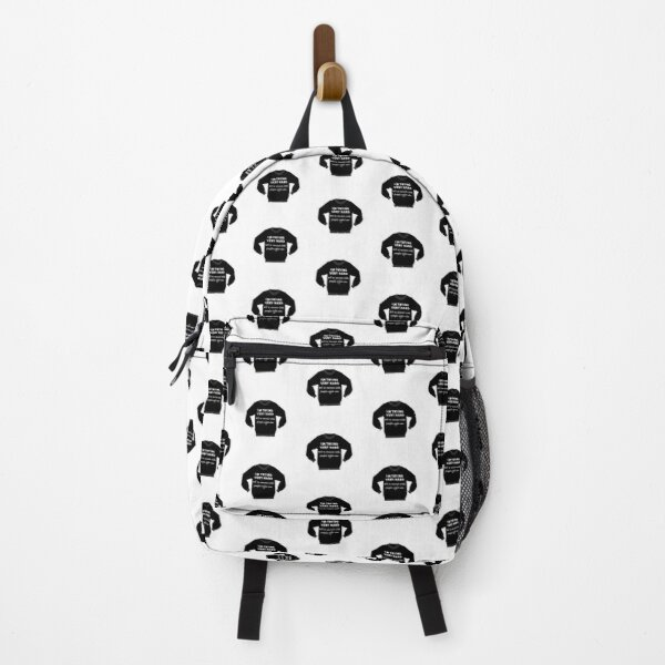 David rose sweater I am trying very hard to not connect with people right now Backpack