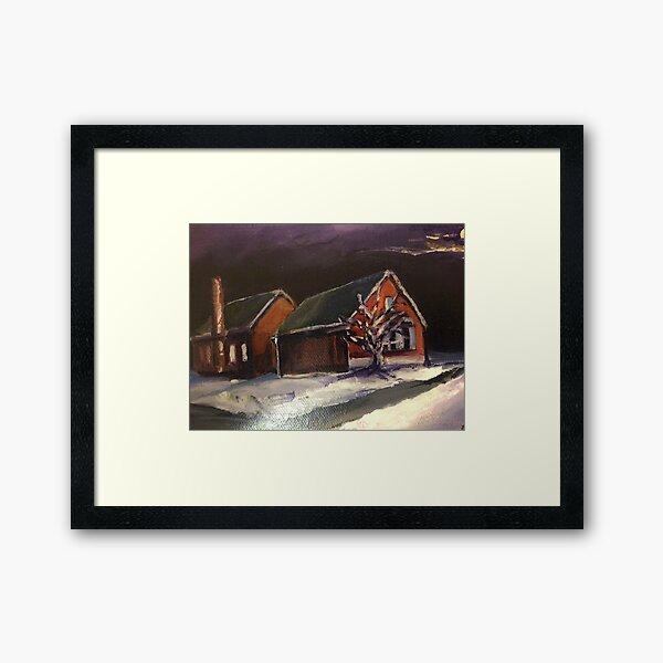 S.E. painting  Framed Art Print