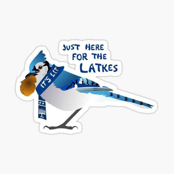 Latke Jay Sticker