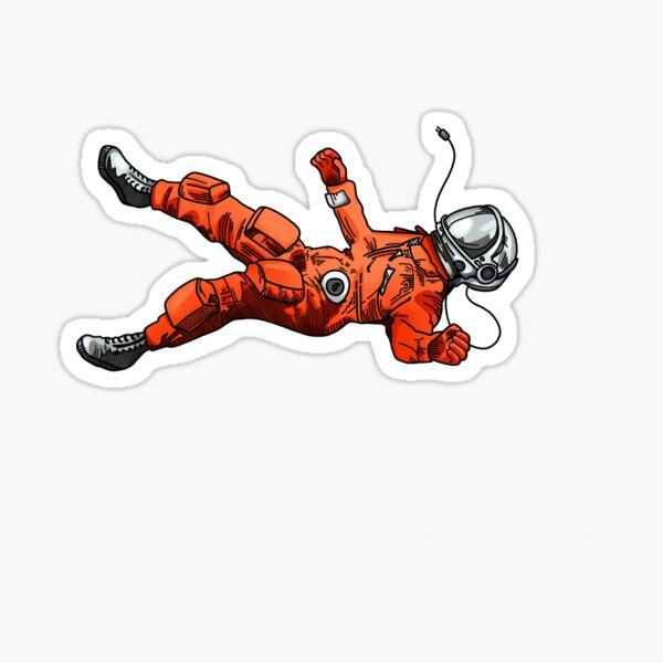 Floating Astronaut Sticker Sticker