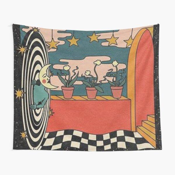 Indie Moon Tapestry