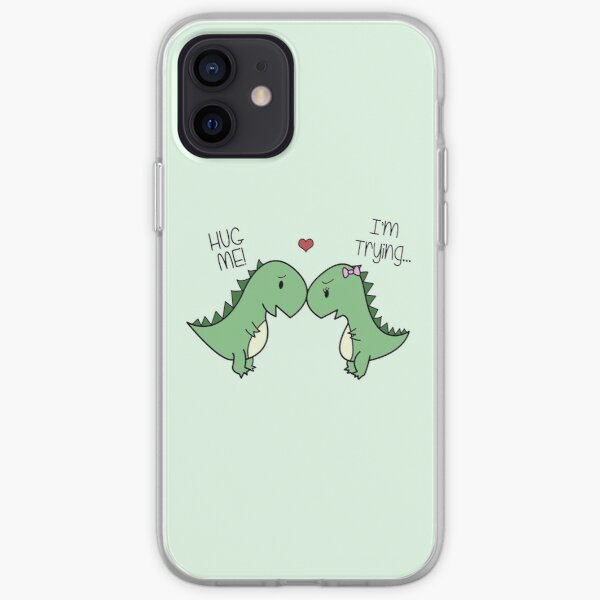 Dino Love! (Hug Me!) iPhone Soft Case