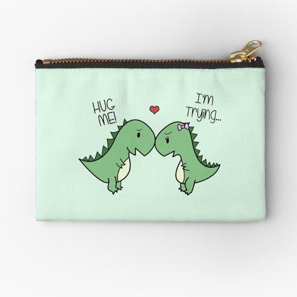 Dino Love! (Hug Me!) Zipper Pouch