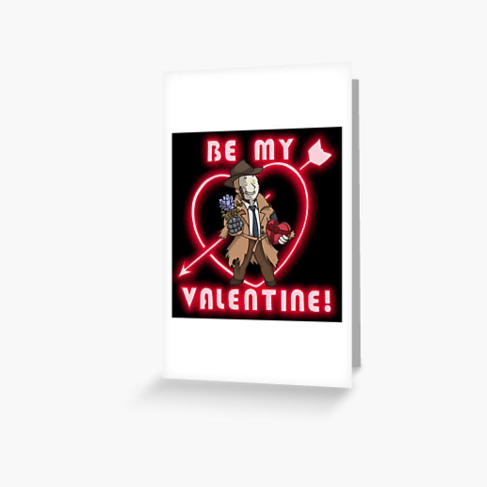 Sei mein Nick Valentin Grußkarte