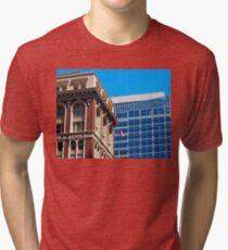 Architecture - Old vs New Tri-blend T-Shirt