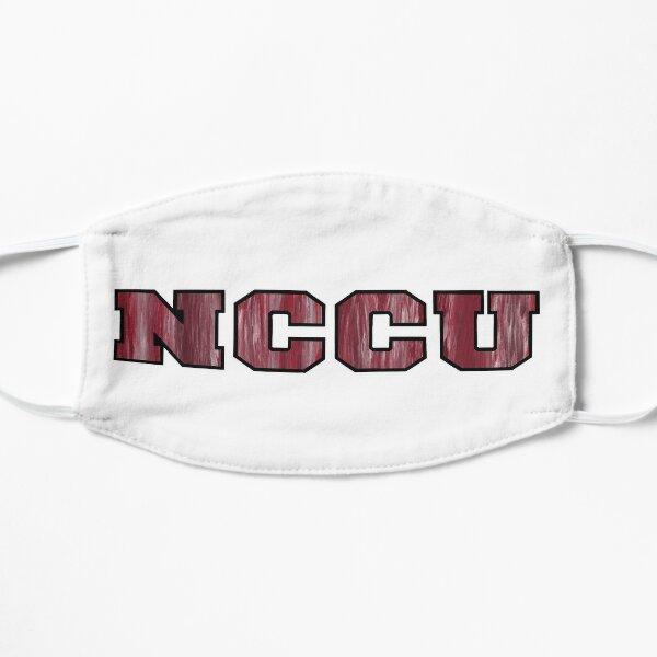 NCCU paint stripes Flat Mask