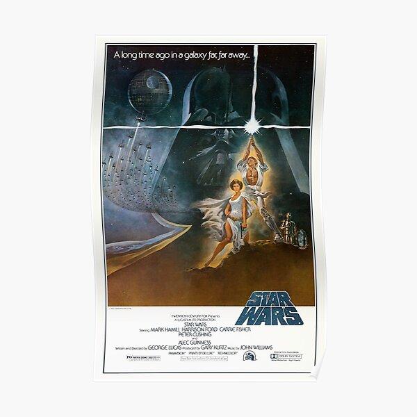 Original Wars 1977 Vintage Poster Poster