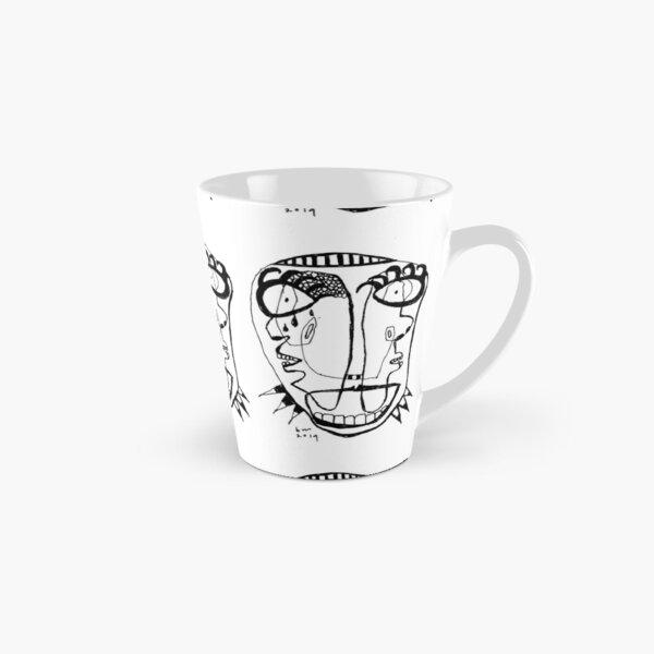 Neon Faces 4 Tall Mug