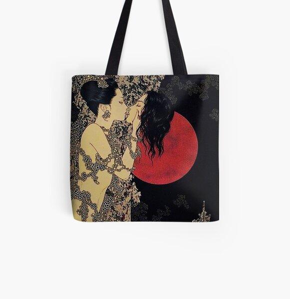 Takato Yamamoto - Vampire Kiss All Over Print Tote Bag