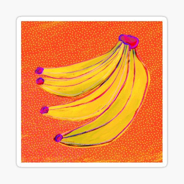Bananas Bunch Sticker