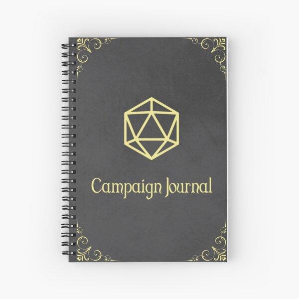 DnD Campaign Journal Spiral Notebook