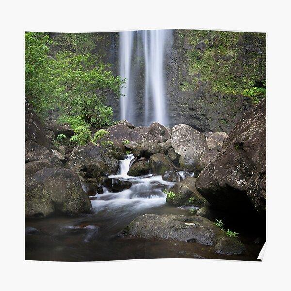 Hanakapiai Falls - Kauai Poster