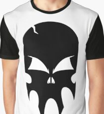 Skull - version 1 - black Graphic T-Shirt