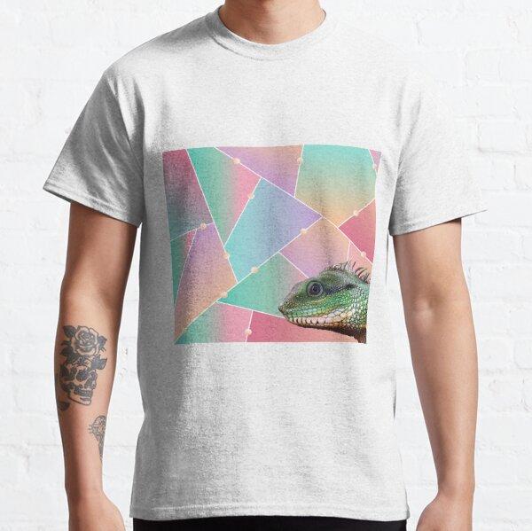 Geometric Pattern Chinese Water Dragon Classic T-Shirt