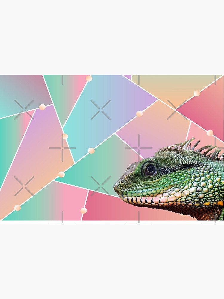 Geometric Pattern Chinese Water Dragon by snibbo71