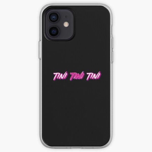 tini tini tini 1 rosa Funda blanda para iPhone