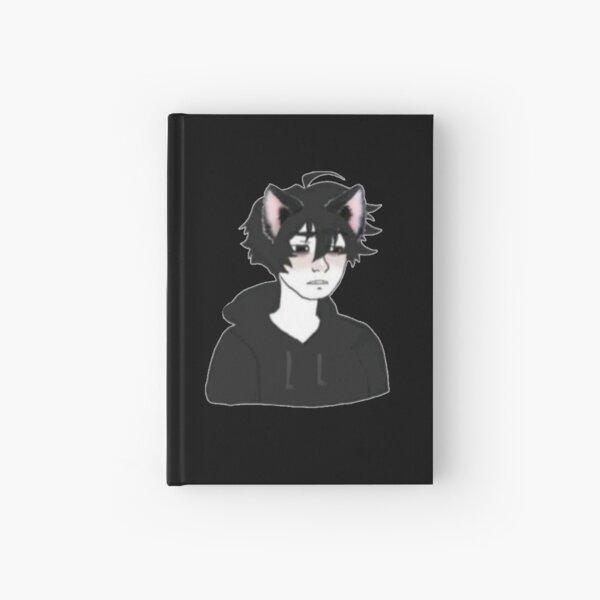 Doomer catboy Hardcover Journal