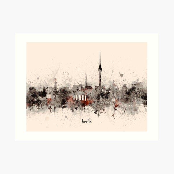 berlin skyline Art Print