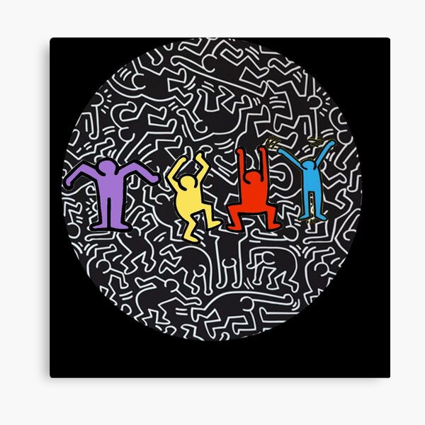 Keith Haring Impression sur toile