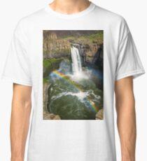 Palouse Falls Double Rainbow Classic T-Shirt