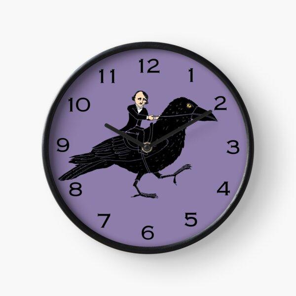 Poe y Raven Reloj