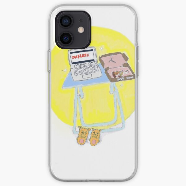 Teleworking iPhone Soft Case
