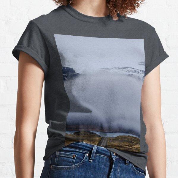 Mountain Highland Cloudy Sky Summit Ridge  Classic T-Shirt