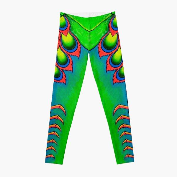 Neon Mantis Shrimp Leggings