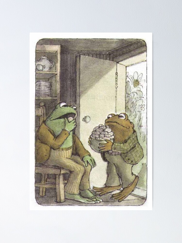 Alternate view of Frog & Toad Poster