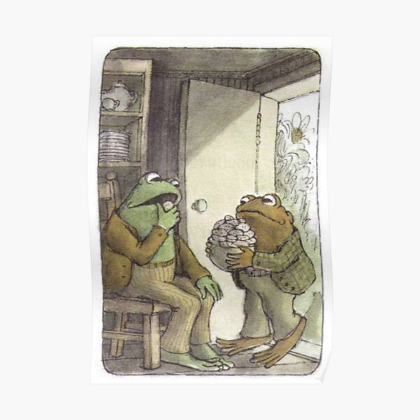 Frog & Toad Poster